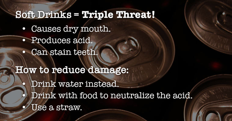 Reasons why soda is bad for your teeth